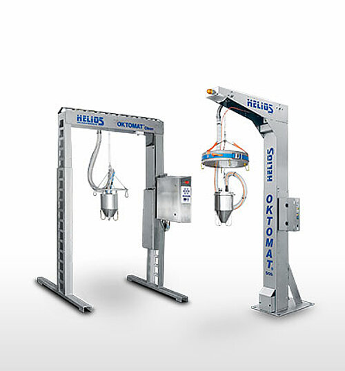 Oktomat® INOX big bag and octabin discharging stations overview