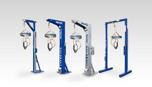 Oktomat® big bag and octabin discharging stations overview