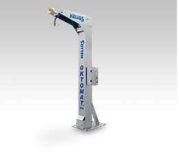 Base frame pedestal version Oktomat® SOS INOX discharging station