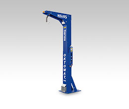 Base frame pedestal version Oktomat® SOS discharging station