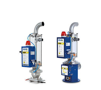 Granulate and regrind dedusting device - HELIO®Clean 3